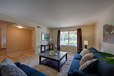 Living Room - 217 Castillon Way, San Jose 95119