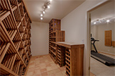 1626 Christina Dr, Los Altos 94024 - Wine Storage (A)