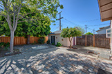 1858 Clay St, Santa Clara 95050 - Backyard (A)