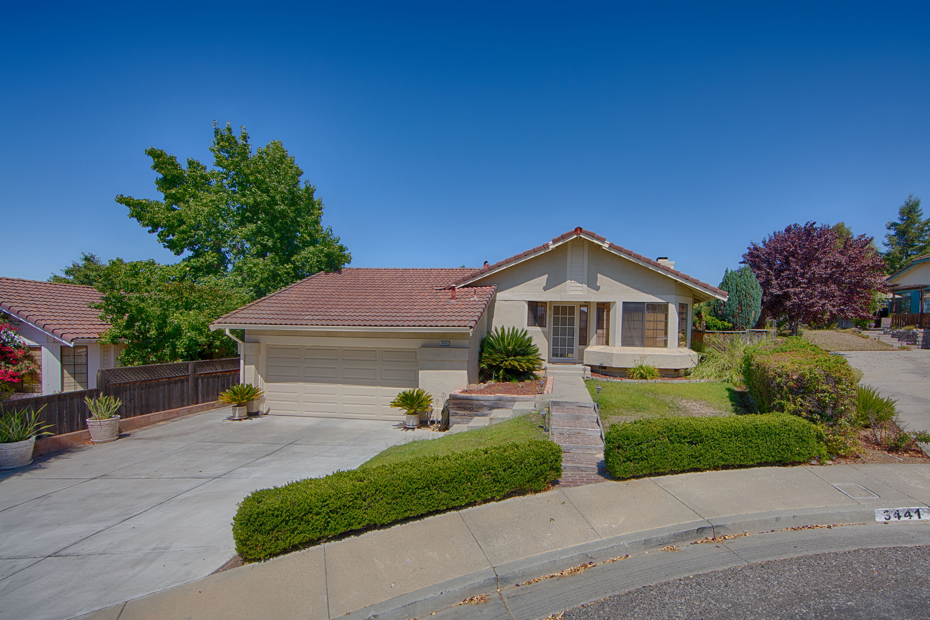 Front View - 3433 Coltwood Ct, San Jose 95148