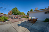 Patio (A) - 679 Durshire Way, Sunnyvale 94087