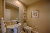 Half Bath (A) - 104 Mendocino Way, Redwood Shores 94065