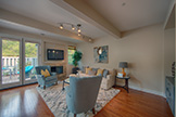 105 Mendocino Way, Redwood City 94065 - Living Room (A)