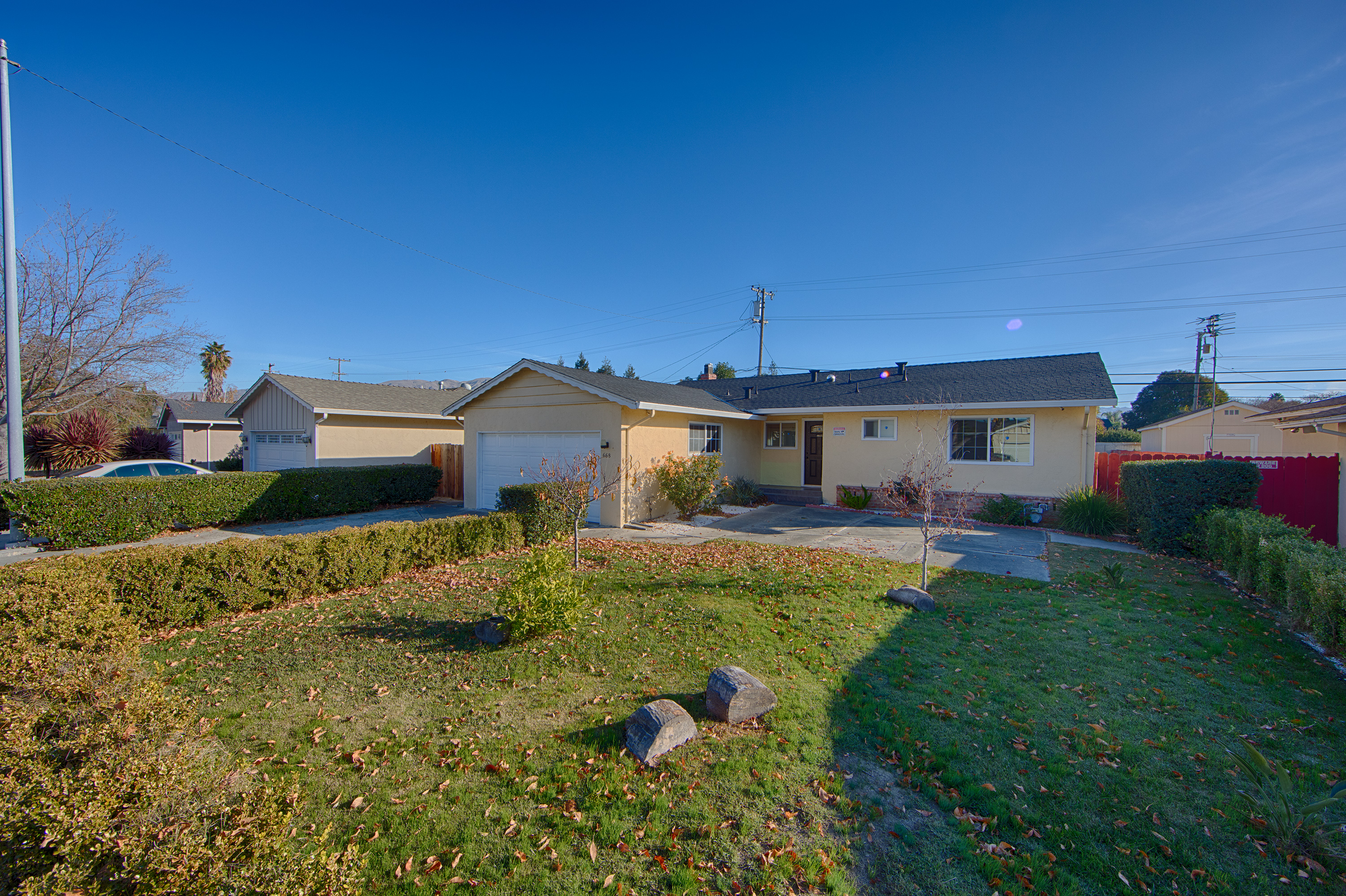 Front View - 668 N Abbott Ave, Milpitas 95035