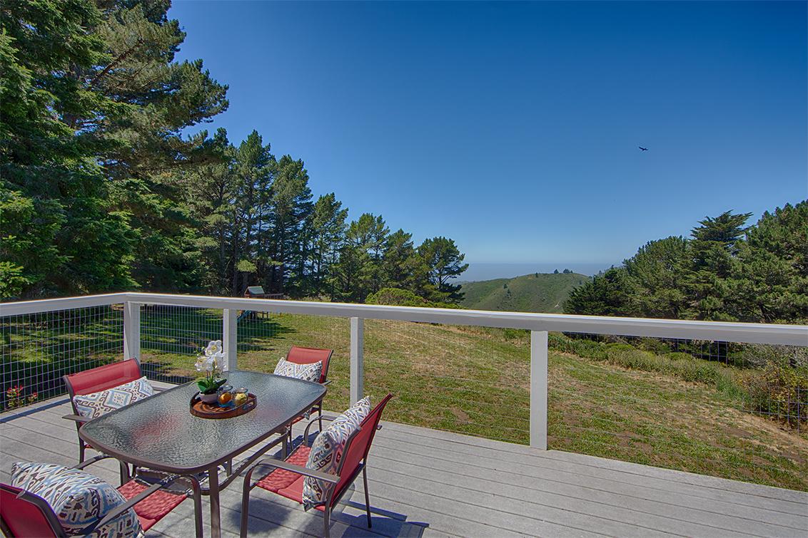 Balcony picture - 1 Quail Ct, Woodside 94062
