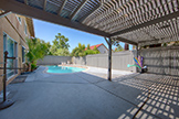 Backyard (A) - 4397 Stone Canyon Dr, San Jose 95136