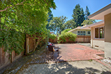 1260 University Ave, Palo Alto 94301 - Brick Patio (A)