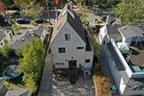 2149 Bowdoin St, Palo Alto 94306 - Overhead Back View (B)