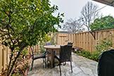 125 Connemara Way 162, Sunnyvale 94087 - Backyard (A)