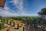 13360 Montebello Rd, Cupertino 95014 - Balcony View (A)