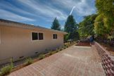 13360 Montebello Rd, Cupertino 95014 - Sideyard (A)