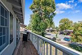 634 Oneida Dr, Sunnyvale 94087 - Master Bedroom Balcony