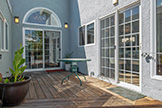83 Orchard Ave, Redwood City 94061 - Back Patio Deck (A)
