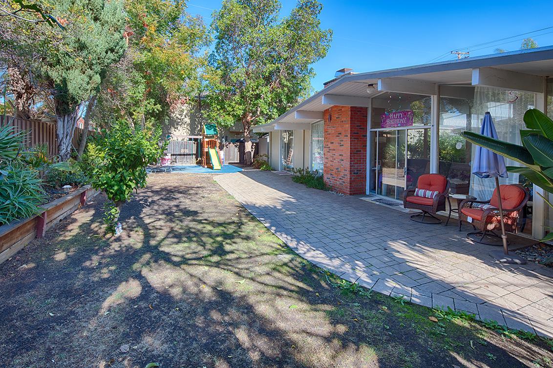 Backyard (A) - 1401 S Wolfe Rd