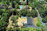 17 Tuscaloosa Ave, Atherton 94027 - Aerial (C)