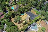 Aerial (D) - 17 Tuscaloosa Ave, Atherton 94027