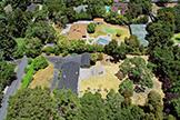 Aerial (H) - 17 Tuscaloosa Ave, Atherton 94027