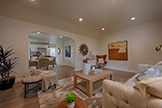 Living Room (D) - 704 Winchester Dr, Burlingame 94010