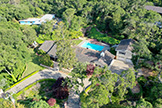 205 Eleanor Dr, Woodside 94062 - Aerial (A)