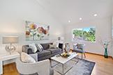 205 Eleanor Dr, Woodside 94062 - Cottage Living Room (F)