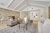 205 Eleanor Dr, Woodside 94062 - Living Room (E)