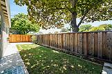 2419 Fordham Dr, Santa Clara 95051 - Side Yard (A)