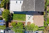 837 Gladiola Dr, Sunnyvale 94086 - Aerial (E)