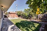 837 Gladiola Dr, Sunnyvale 94086 - Backyard (A)