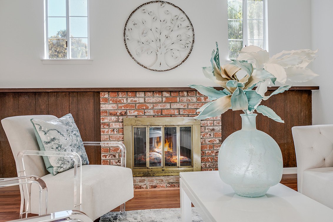 Family Room Fireplace (A)