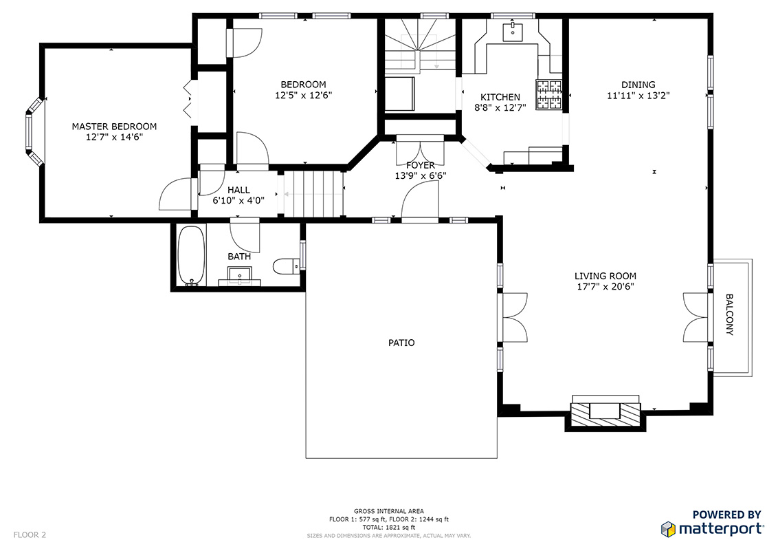 Floor Plan (A) - 30 Hilltop Dr