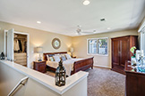 530 Irven Ct, Palo Alto 94306 - Master Bedroom (A)