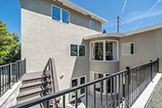 530 Irven Ct, Palo Alto 94306 - Outdoor Stairs (A)