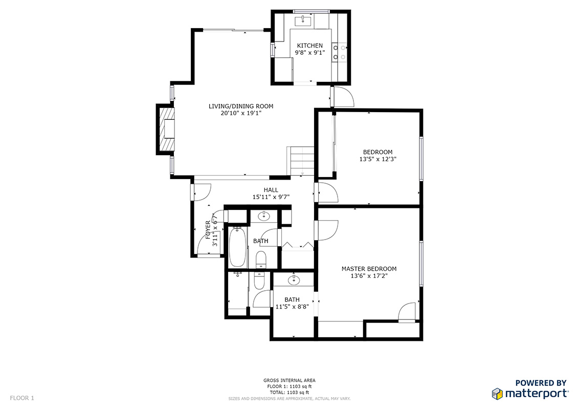 Lytton Ave 627 4 Floor Plan