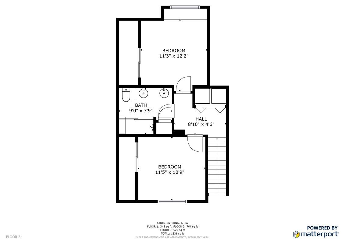 Floor 3  - 2214 Raspberry Ln