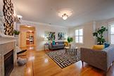 318 S Grant St 1a, San Mateo 94401 - Living Room (A)