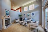 444 San Antonio Rd 4a, Palo Alto 94306 - Living Room (A)