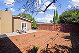741 San Miguel Ave, Santa Clara 95050 - Backyard (A)