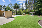 302 Stevick Dr, Atherton 94027 - Backyard (A)