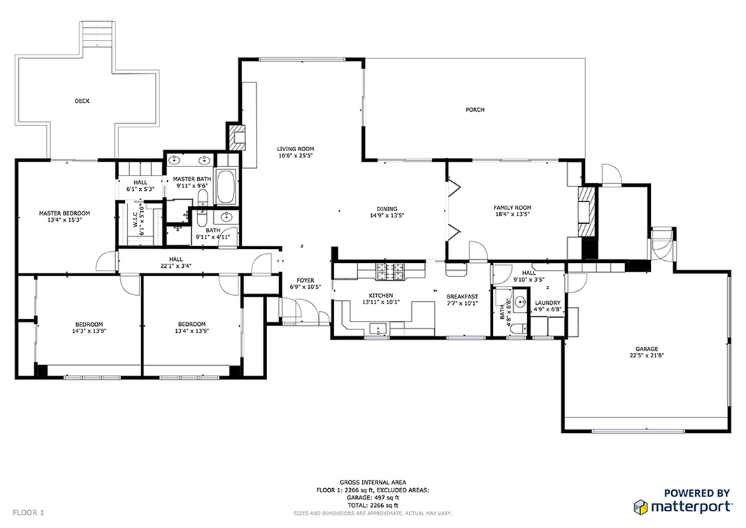 Floor Plan (A) - 302 Stevick Dr