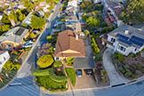 4001 Hacienda St, San Mateo 94403 - Drone (B)