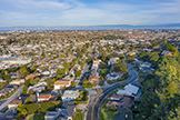 4001 Hacienda St, San Mateo 94403 - Drone (C)