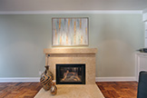 520 Rhodes Dr, Palo Alto 94303 - Living Room Fireplace (A)