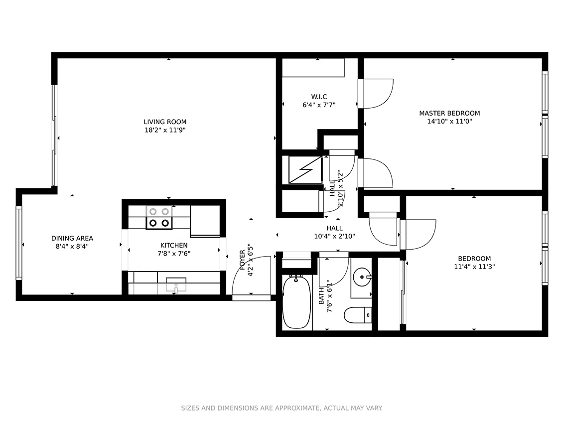 San Antonio Rd 765 85 Floor Plan
