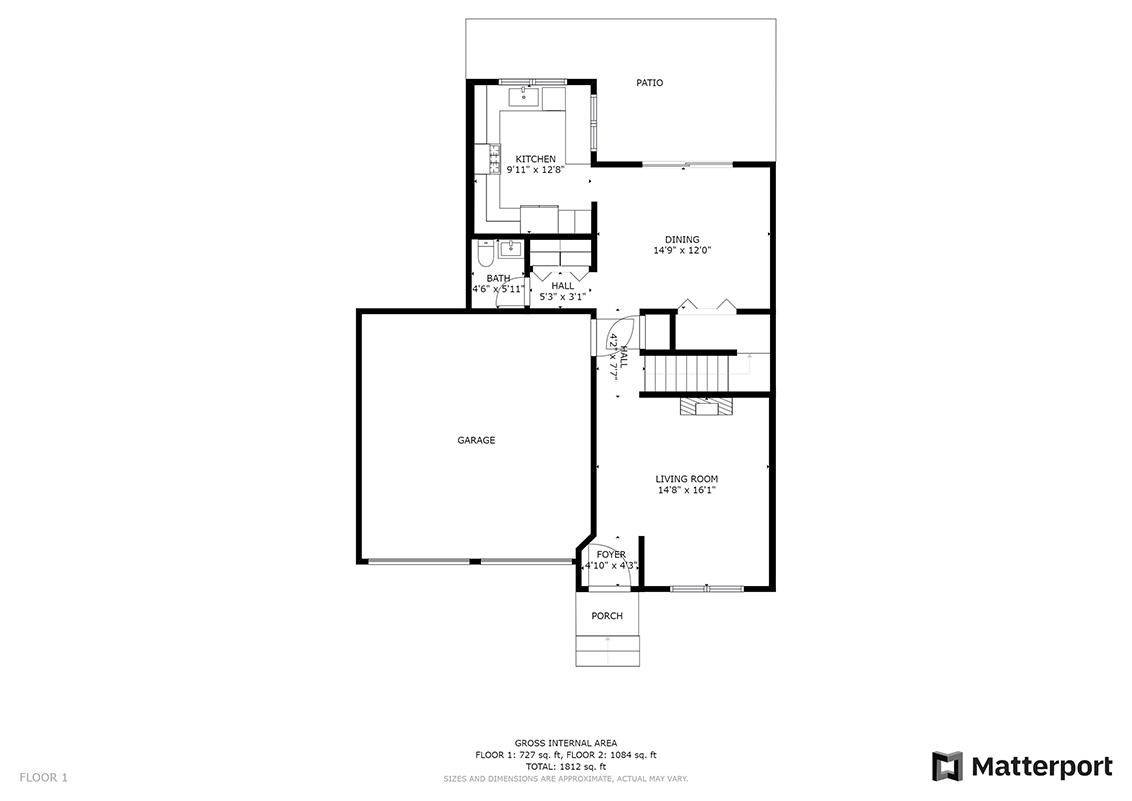 Floor Plan (A) - 1063 Bonita Ave