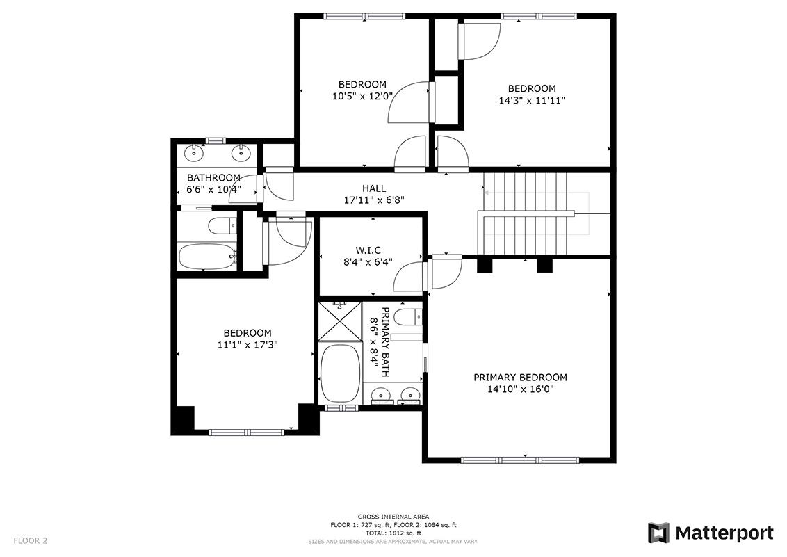 Floor Plan (B) - 1063 Bonita Ave