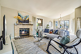 5047 Mitty Way, San Jose 95129 - Living Room (A)