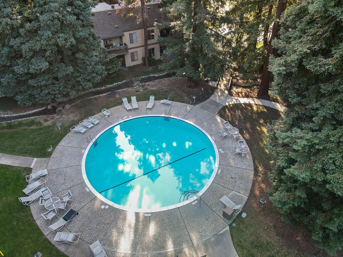 Aerial Pool  - 505 Cypress Point Dr 45