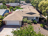 2419 Fordham Dr, Santa Clara 95051 - Aerial (B)