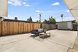 1187 Manzano Way, Sunnyvale 94089 - Patio (A)
