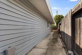 1187 Manzano Way, Sunnyvale 94089 - Sideyard Left